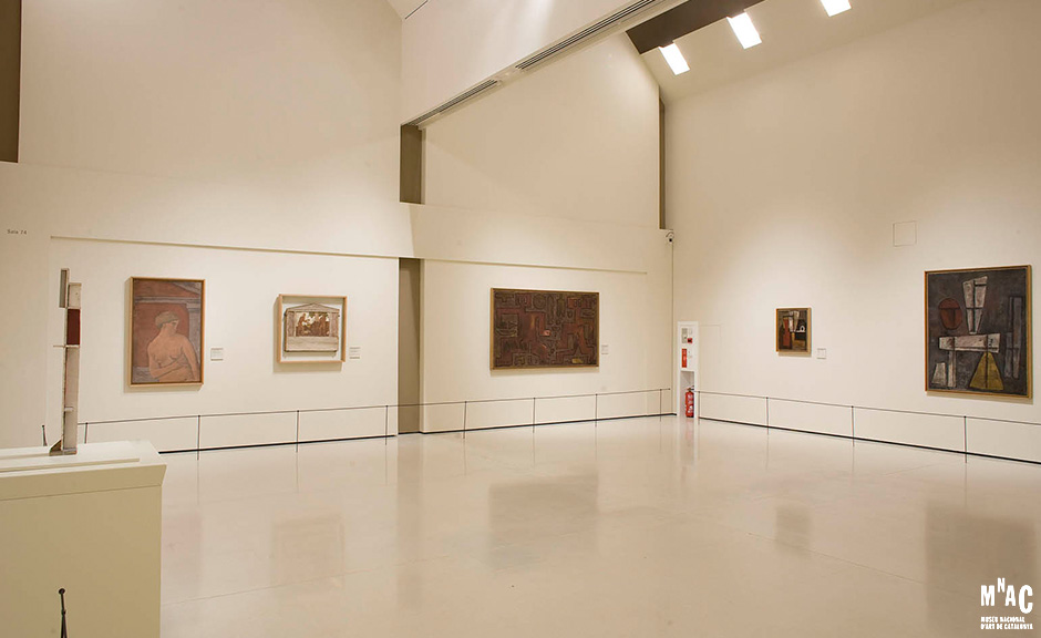 Joaquin Torres Garcia Room, Museu Nacional d'Art de Catalunya 2010-2011, thanks to the Joaquin Torres Garcia Archive by Alejandra Aurelio and Claudio Torres