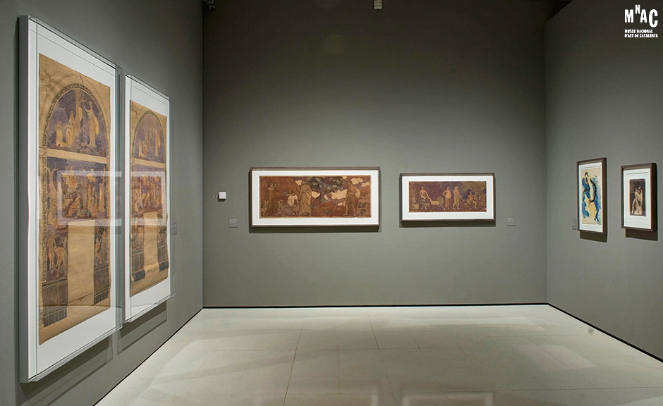 Joaquin Torres Garcia at his Crossroads, Museu Nacional d'Art de Catalunya 2011, thanks to the Joaquin Torres Garcia Archive by Alejandra Aurelio and Claudio Torres